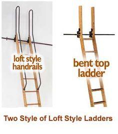 Custom-built Library Ladders - Rolling Library Ladder - Wood & Metal -