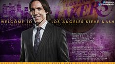 Steve Nash in Purple and Gold | THE OFFICIAL SITE OF THE LOS ANGELES LAKERS
