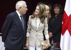 La Princesa de Asturias enarbola la 'banderita' de la Cruz Roja