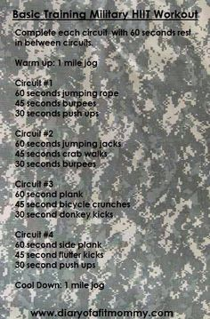 62 Best Military workout images | Military training, Military