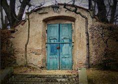Blue doorway to where?