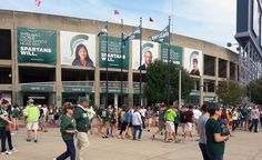 MSU Banners created by Extra Credit Projects