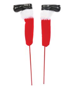Look what I found on #zulily! Santa Legs Tree Pick by DEI #zulilyfinds