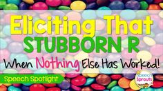 """Need some new tricks to teach that stubborn """"R""""? Tons of tips you will want to try with your articulation students."""