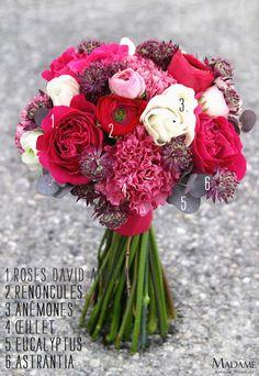 Bouquet de mariee - Madame Artisan Fleuriste - La mariee aux pieds nus