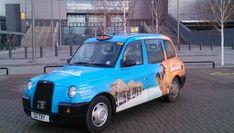 Glasgow Taxi Advertising