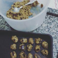 Cookies Receita no Blog #cozinha #euquefiz