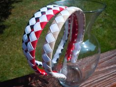 Uniform Colors Woven Ribbon Braided Headbands by ExcuseMeDesigns, $14.00