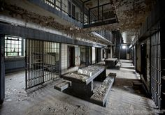 Steadmoor Correctional Facility presented by Matthew Christopher Murray's Abandoned America