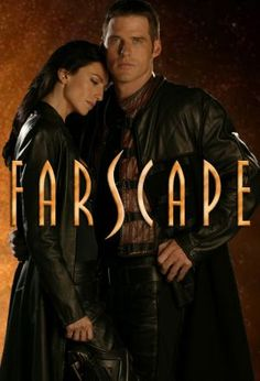 Farscape - watching the show on Netflix right now.  I like these two actors - Ben Browder and Claudia Black.  They were also in Stargate.  Once a sci-fi star, always a sci-fi star.