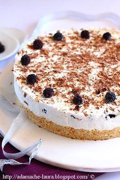 Un cheesecake si o aniversare | Laura Adamache Retete culinare Cheesecakes, Tiramisu, Delicious Desserts, Cake Recipes, Sweet Treats, Food And Drink, Sweets, Cooking, Ethnic Recipes
