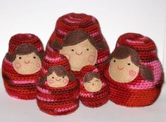 Nesting Dolls crochet pattern :)