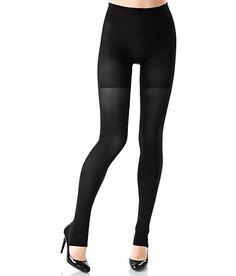 561ba51dc54b30 SPANX Tight-End Tights Shaping Convertible Leggings Hosiery Shapewear 039B  at BareNecessities.com (