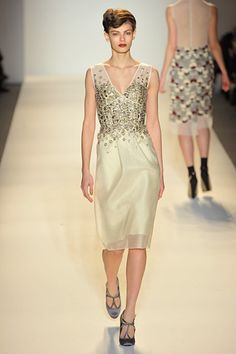 New York Fashion Week  Lela Rose Fall 2012 RTW