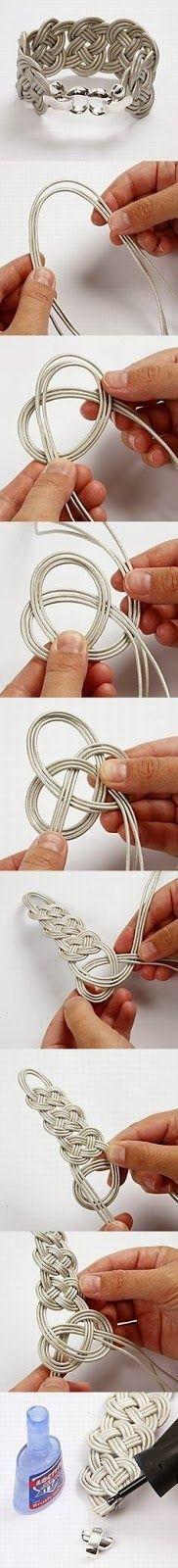 303Pixels: DIY Leather Bracelet