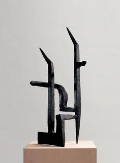 Del horizonte, 1956 by Eduardo Chillida