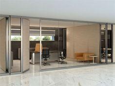 Divisória para escritório / divisória de vidro SILENTBOX Linha Estel Office by ESTEL GROUP
