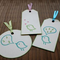 Birds / vogel stamp / stempel