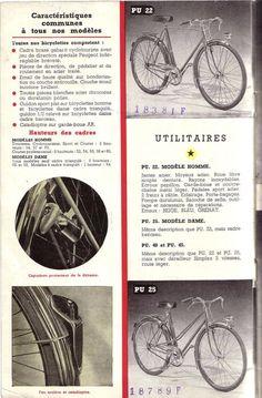 Cycles Peugeot 1952 brochure 2/18