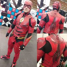 "Stark Luke on Instagram: ""I took part in the #cosplaycontest of the #austriacomiccon ⚡⚡ #austria #austriacomiccon2018 #flash #flashcosplay #justiceleague #barryallen…"" Flash Cosplay, Justice League, Take My, Austria, Superhero, Instagram, Comic Con"