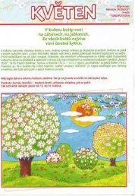 květen Aa School, School Clubs, Seasons Of The Year, Four Seasons, Weather For Kids, Sudoku, Weather Seasons, Teaching Kids, Montessori