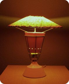 1950's lamp by SportSuburban