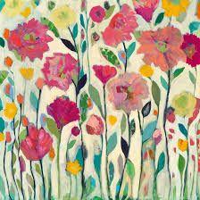 """Résultat de recherche d'images pour """"painted blossoms creating expressive flower art with mixed media"""""""