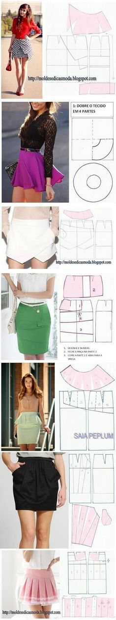 DIY Stylish Skirts DIY Projects / UsefulDIY.com on imgfave