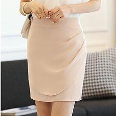 Mujeres Hanyiou ® Bolsa de cintura OL falda de la cadera – USD $ 19.59
