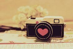 Máquina Fotográfica de Feltro / Imagens Fofas para Tumblr, We Heart it, etc - {Olhar 43} / 2016 {Olhar 43}