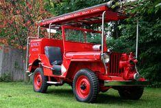 1949 WILLYS JEEP CJ2A FIRE TRUCK