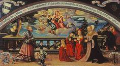 Vöhlin'sches Stifterbild, Umkreis Bernhard Strigels, 1519. Stadt Memmingen: Strigel-Museum