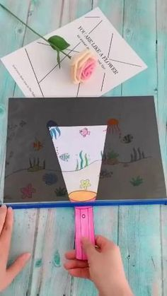 Paper Crafts Origami, Paper Crafts For Kids, Craft Activities For Kids, Preschool Crafts, Diy For Kids, Fun Origami, Origami Ideas, Origami Decoration, Craft Ideas