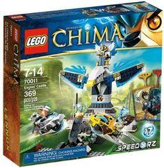 Amazon.com: LEGO Legends of Chima Eagles' Castle 70011: Toys & Games