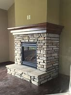 Ideal fireplace ideas flat wall that will impress you de piedra Beautiful Living Rooms With Fireplaces Basement Fireplace, Farmhouse Fireplace, Home Fireplace, Fireplace Remodel, Living Room With Fireplace, Fireplace Surrounds, Fireplace Design, Fireplace Ideas, Natural Stone Fireplaces