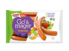 Gilde Go' & mager - DESIGN HOUSE Filter, Packaging Design, Branding, House Design, Sausages, Meat, Graphic Design, Food, Creative