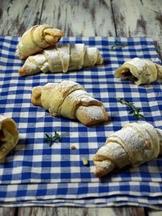 Well the recipe is in croatian... but plum jelly filled croissants