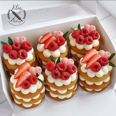 Baking Recipes, Cake Recipes, Dessert Recipes, Mini Cakes, Cupcake Cakes, Baking Cupcakes, Number Cakes, Number Birthday Cakes, Fancy Desserts