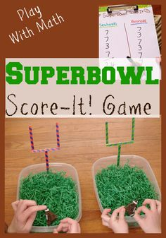 Play With Math: Super Bowl Score-It! Game #spon #PMedia #RubbermaidSharpie