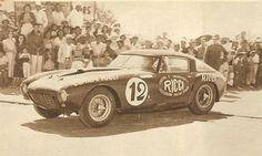 La 375 MM Pininarina Berlinetta guidata da Maglioli alla Carrera Panamericana del 1953