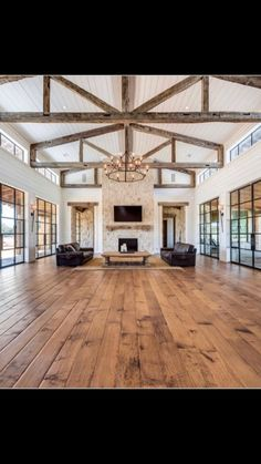 The Lowdown on Using Natural Penetrating Oil Finishes on Wood Floors Dream Home Design, My Dream Home, House Design, Barn House Plans, Dream House Plans, Metal Building Homes, Building A House, Pole Barn Homes, House Goals
