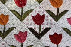 Image result for tulip quilt block pattern free