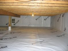Viper® CS is a vapor barrier designed specifically for controlling moisture migration in crawl space applications. Its bright white color will give any crawl space a fresh, clean look.