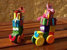 καρυδότσουφλο : Αυτοκινητάκια αντίκες δια χειρός των παιδιών!