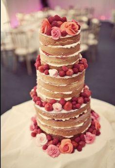 wedding victoria sponge cake