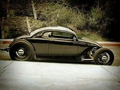 """Awesome Volkwagen Bug rod, """"volksrod"""" style"""