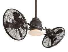 Vintage Gyro 42 Ceiling Fan wLight Kit