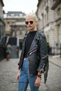 #carolineschurch #modeloffduty #model #blond #fashion #beauty #streetstyle #street #women by #sophiemhabille