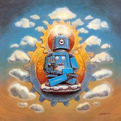 Mr. Ohmz, Buddha Bot V5 by john sumrow