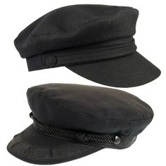 Greek fisherman's hats...also reminds me of the hat I oftentimes see John Lennon wearing in the earlier years